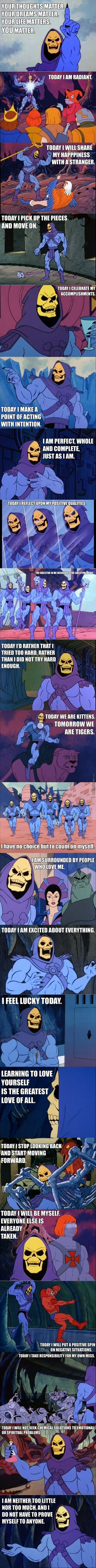 Today Skeletor, Today Is The Day (Sauce)
