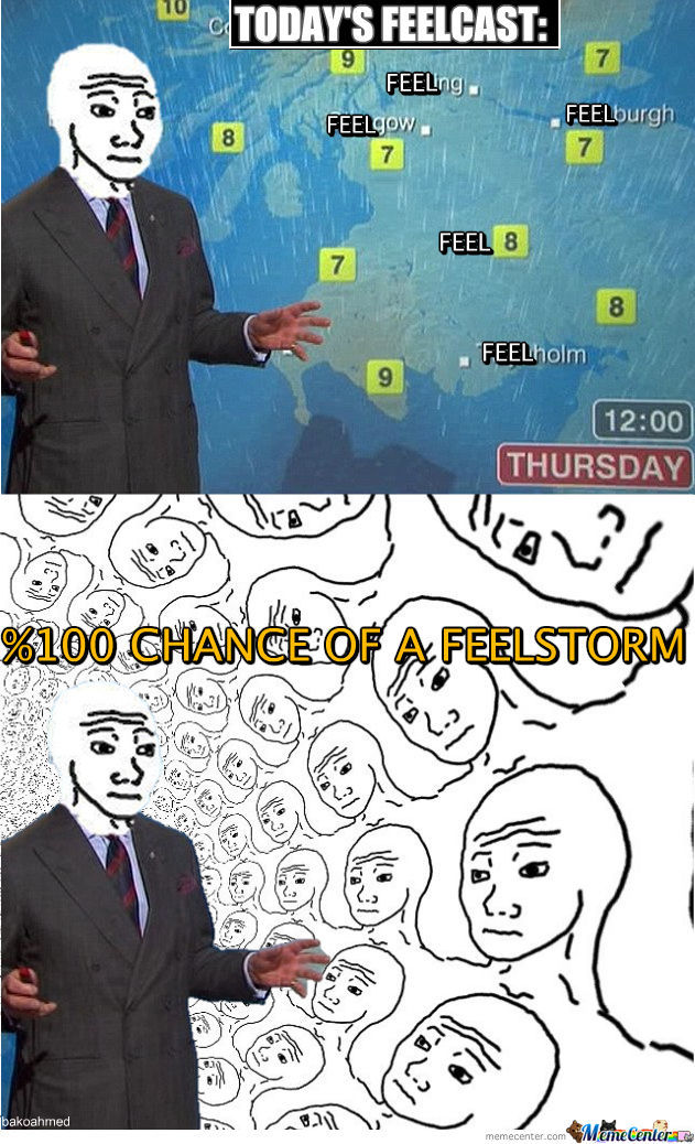 Today's Feelcast.....
