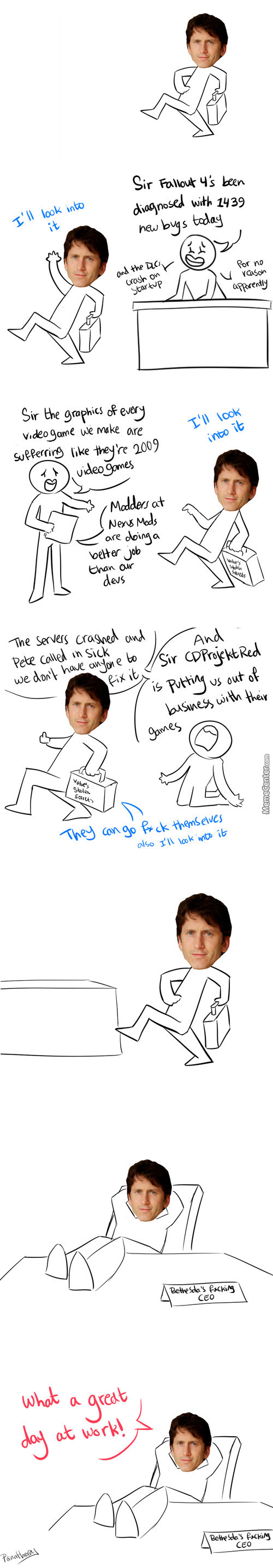 Todd Howard = Best Bethesdad <3