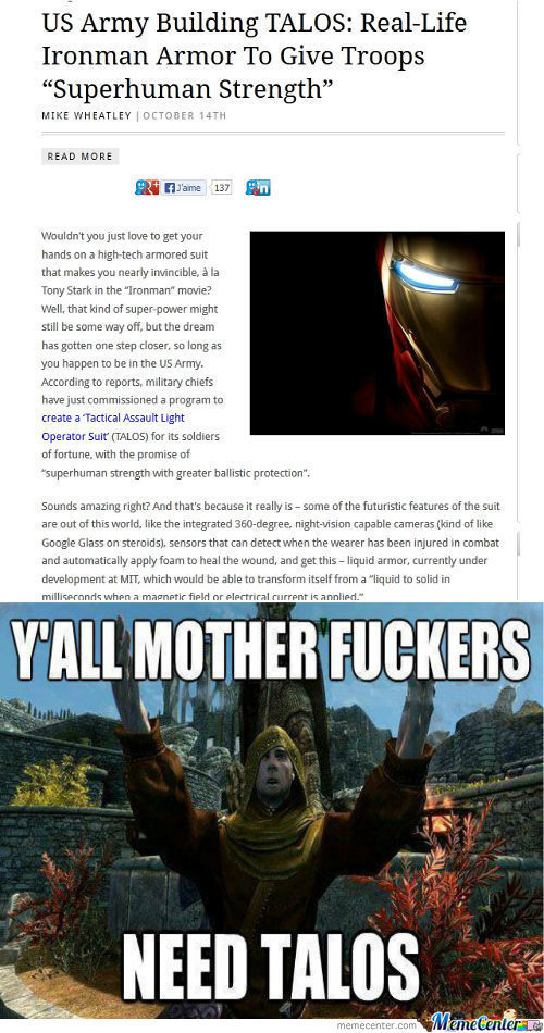 Told Ya That Y'all Motherfuckers Need Talos