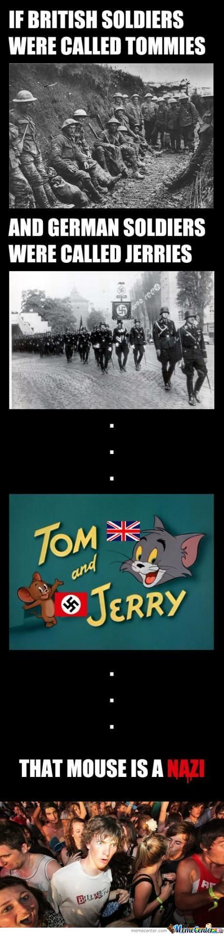 Tom Hand Jerry