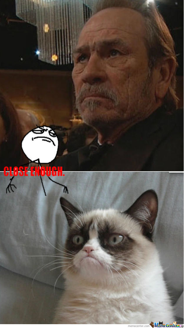 Tommy Lee Jones And Grumpy Cat