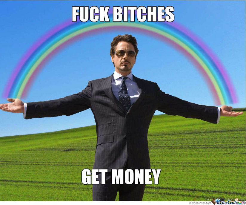 Tony Stark Get Money
