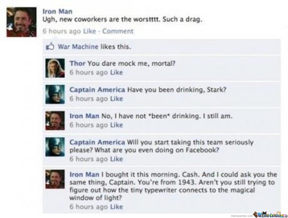 Tony Stark Strikes Again.