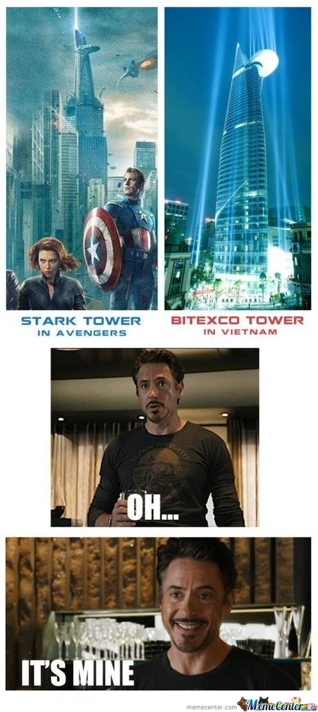 Tony Stark's Tower In Vietnam