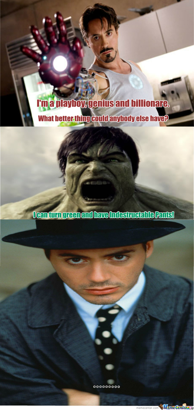 Tony Vs Hulk