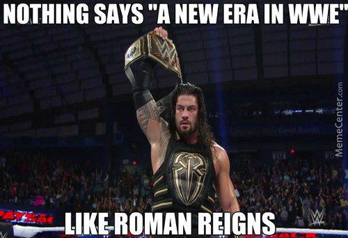 Too Bad The New Era Doesn't Involve Giving The Belt To One Of The Greatest Wrestlers In The World