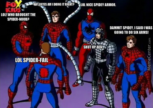 Too Many Spideys?