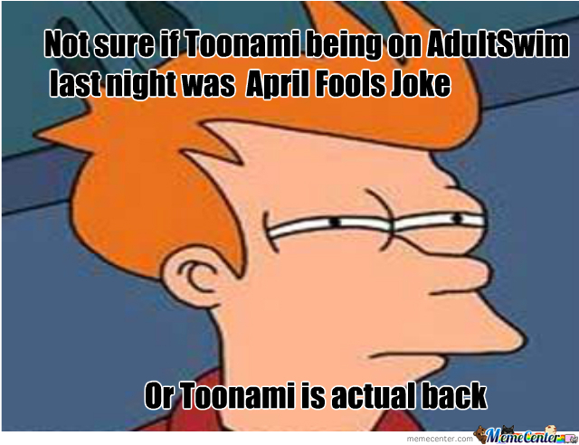 Toonami Could Be Back?