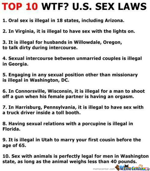 Top 10 Wtf Us Laws