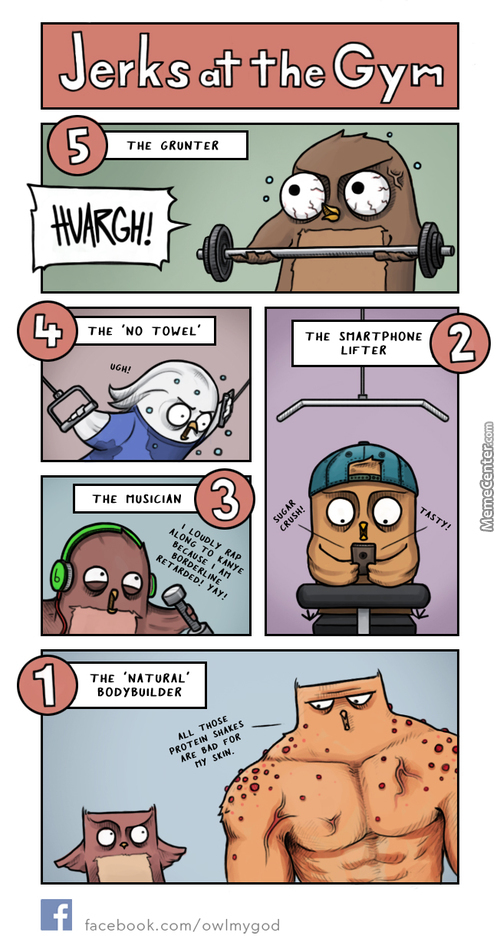 Top 5 Jerks At The Gym