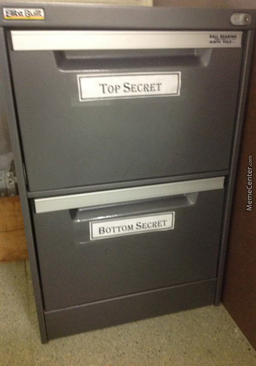 Top Secret And....
