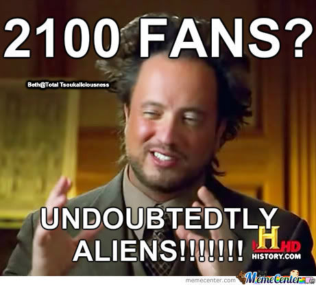 Total Tsoukaliciousness 2100 Fans