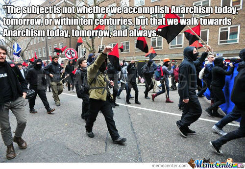 Towards Anarchy