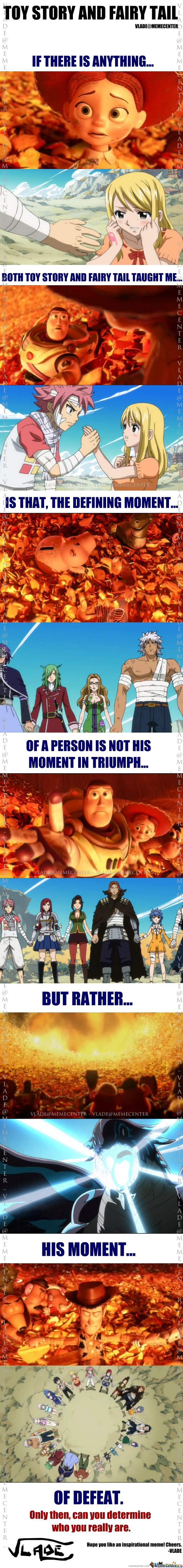 Toy Story And Fairy Tail