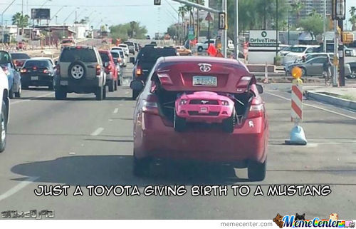 Toyota Giving Birth...