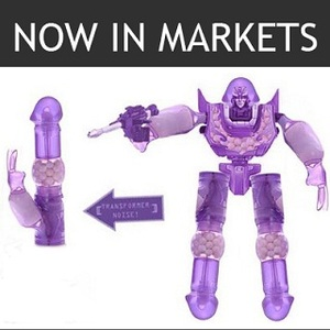 The Sexy naked transformers toys