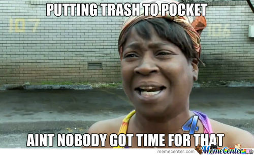 Trash To Pocket