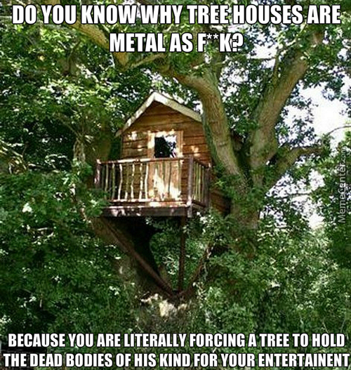 Tree-Houses Are Brutal
