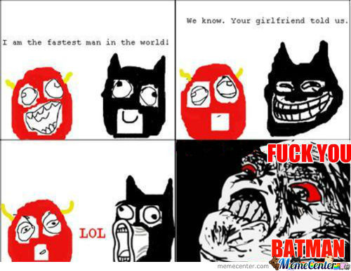 Troll Batman