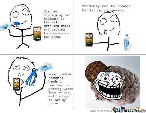 Troll Brain, Sad But True Story