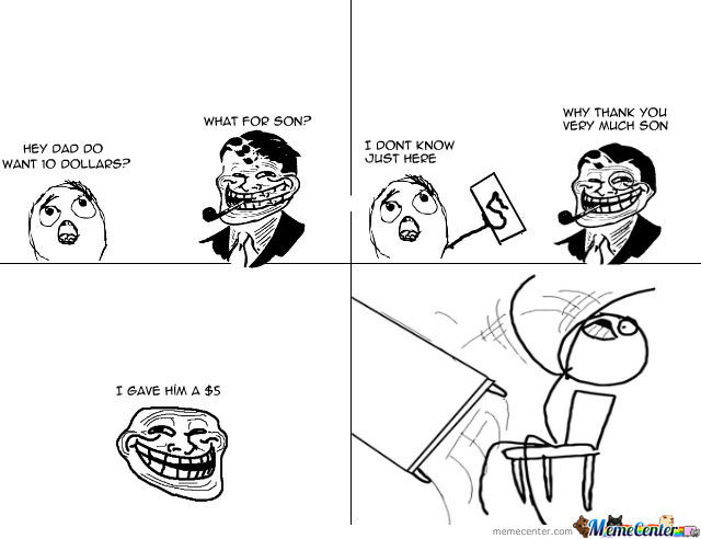 Troll Dad Got Trolled