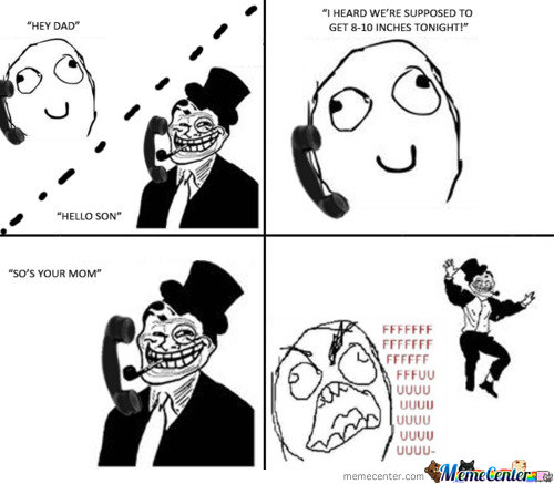 Troll Dad Is Epic
