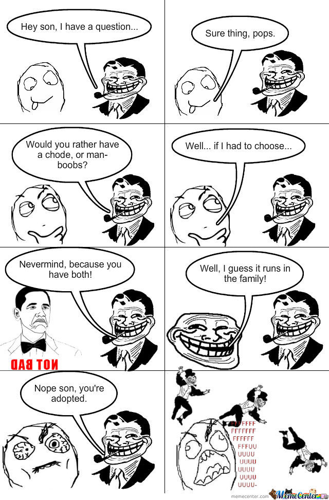 Troll Dad Strikes Again