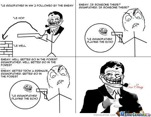 Troll Grandfather