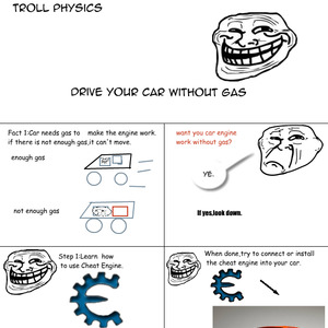 how to drive without gas