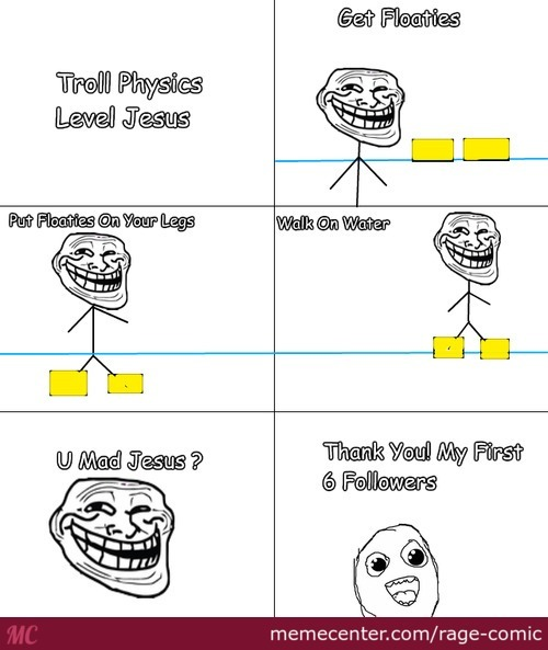 Troll Physics Level Jesus