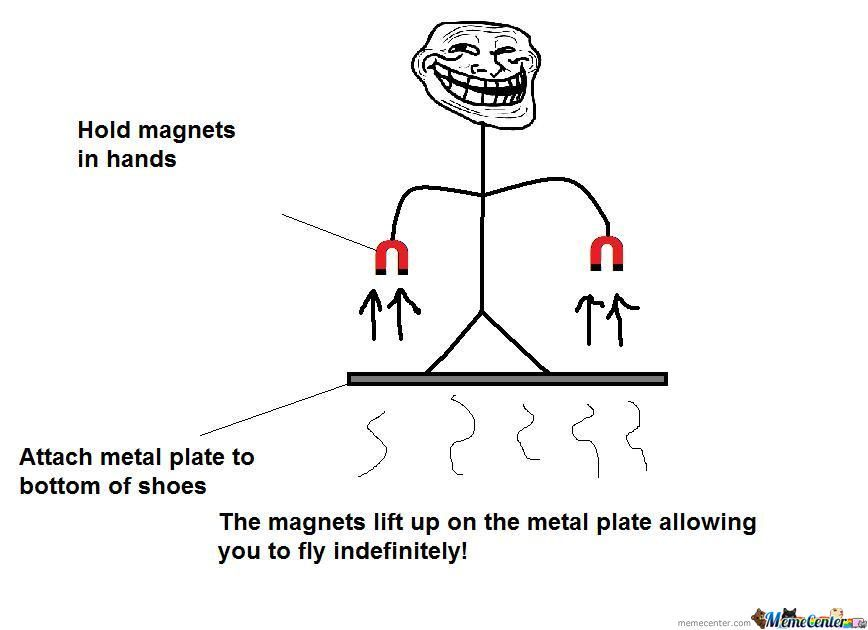 Troll Physics With Magnets...