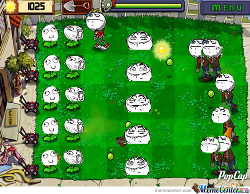Troll Plants Vs Zombies
