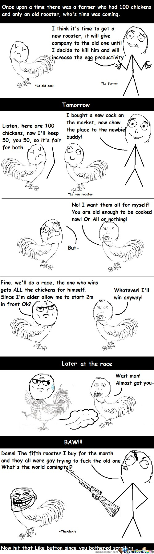 Troll Rooster