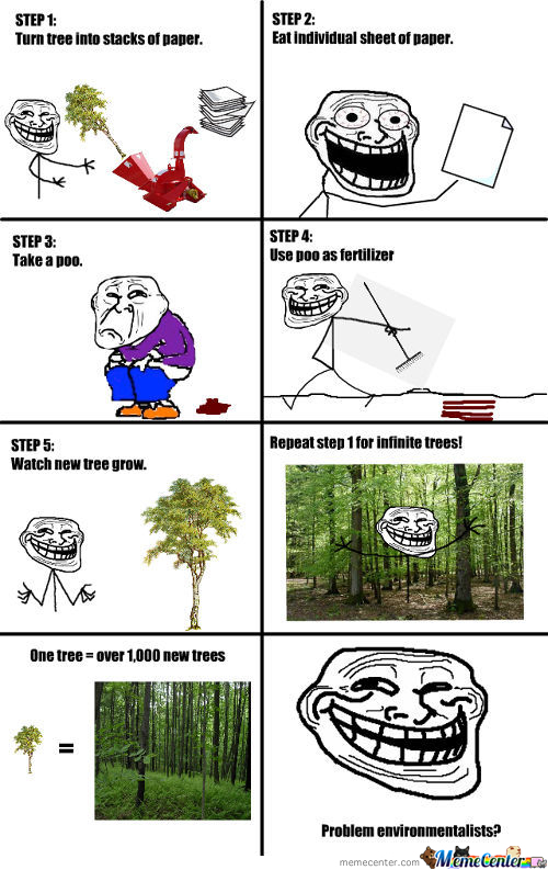 Troll Science: Trees