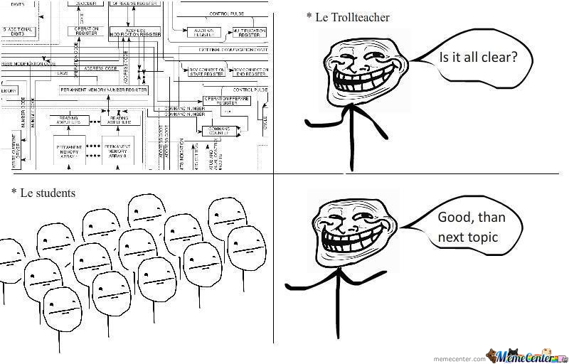 Troll Teacher!!