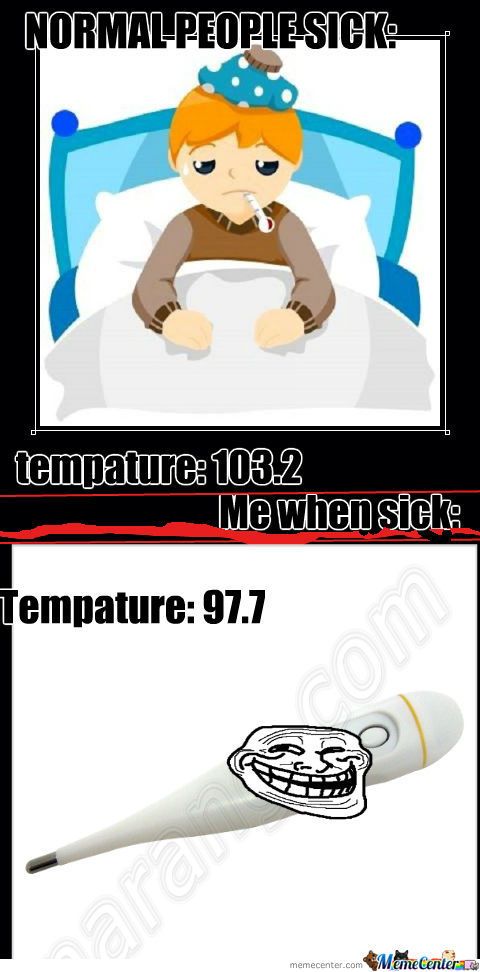 Troll Thermometer