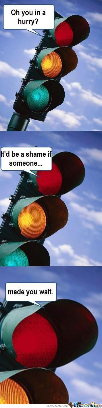 Troll Traffic Light.