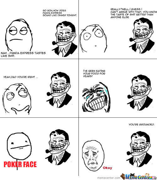 Trolled By Dad