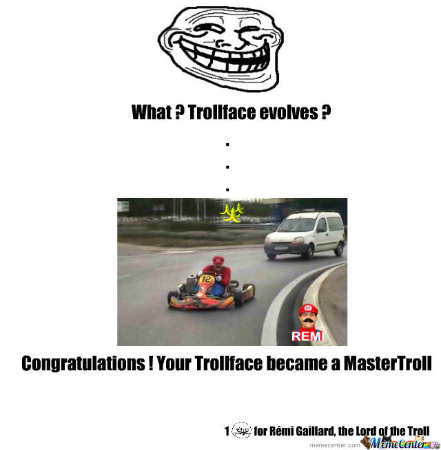 Trollface Evolution