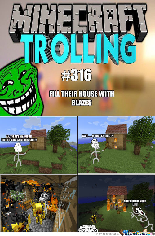Trolling In Minecraft #316