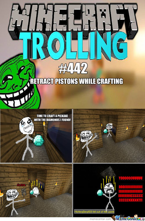 Trolling In Minecraft #442