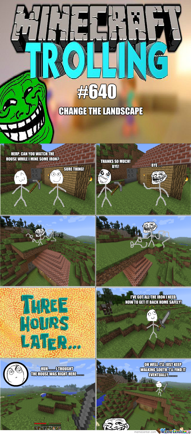 Trolling In Minecraft #640