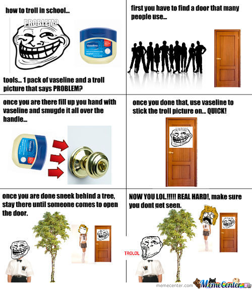 Trolling In School