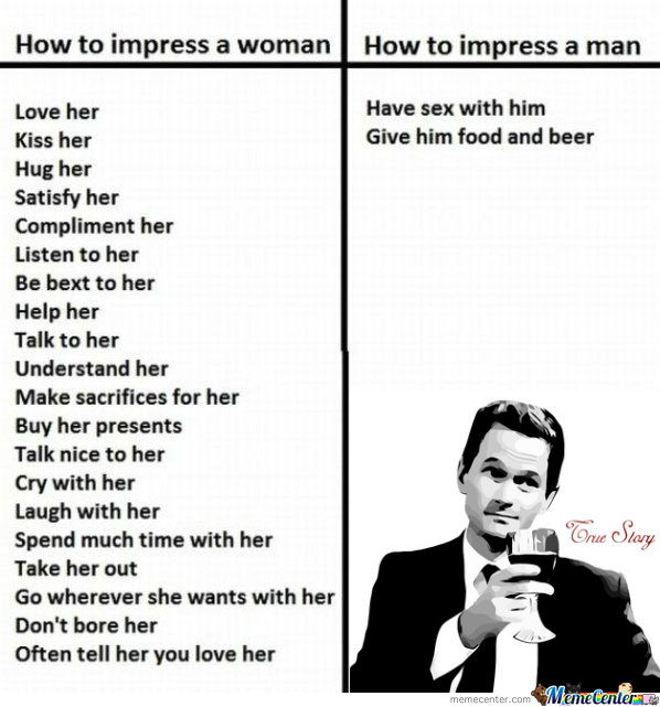 How To Impress Woman vs Man