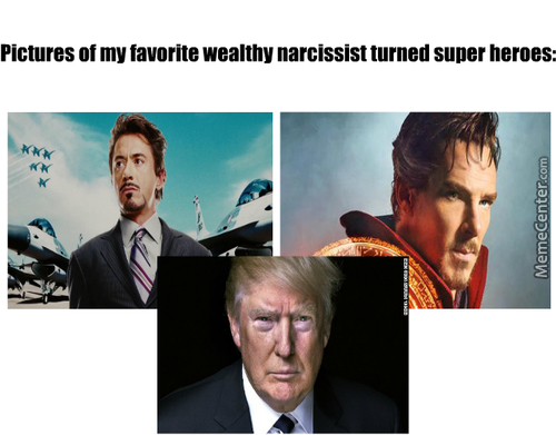 Trump Is Gonna Make The Avengers Great Again