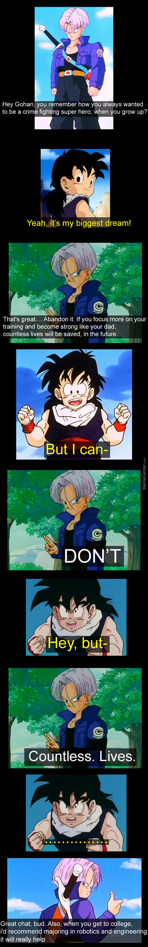 Trunks Is Right