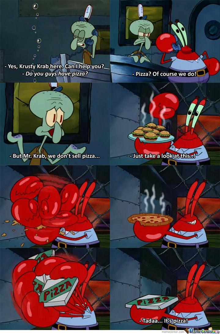 Trust Me, Mr.krab Is An Engineer!