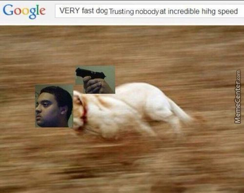 Trust Nobody, Not Even Your Very Fast Trusting Nobody Incredible Hihg Speed Self
