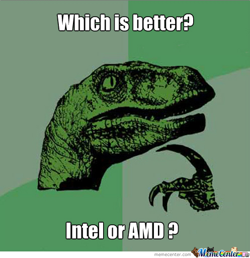 Trying To Win A Bet!! (I Think Amd Is Better)